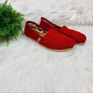 Red Toms 8.5 Women's Sneakers